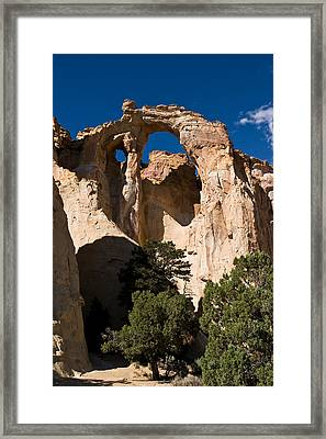 Grosvenor Arch Framed Print by James Marvin Phelps