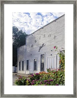 Gruene Hall Framed Print
