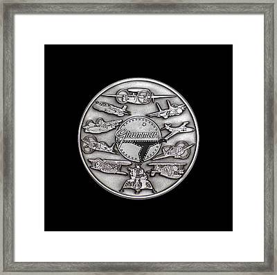 Grumman Coin Framed Print