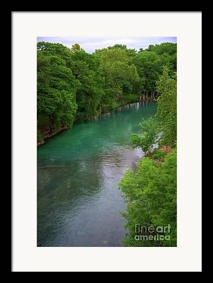 Guadeloupe River Framed Prints