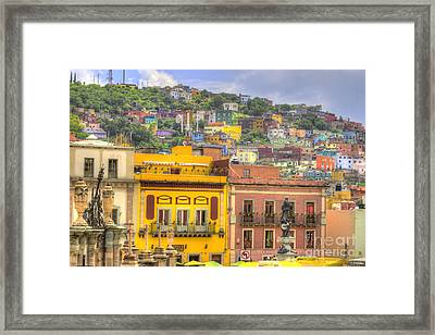 Guanajuato Mexico  Framed Print by Juli Scalzi
