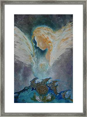 Angelic Encounters  Framed Print