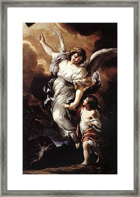 Guardian Angel Framed Print by MotionAge Designs