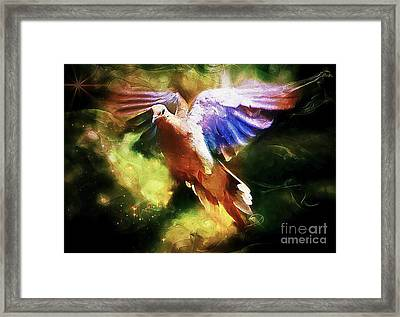Guardian Angel Framed Print by Tina  LeCour