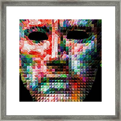 Guess This Person. Do You Know Who It Framed Print
