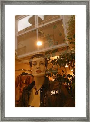 Gwen  Framed Print by Jez C Self