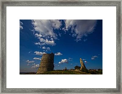 Hadleigh Castle Essex Framed Print by David French