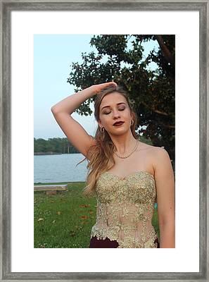 Haley Framed Print