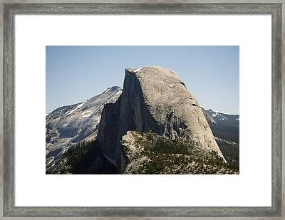 Half Dome Framed Print by Bransen Devey
