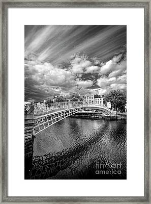 Halfpenny Bridge Framed Print