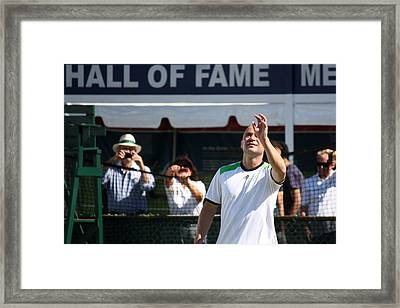Hall Of Fame Worthy Framed Print by Anne Babineau