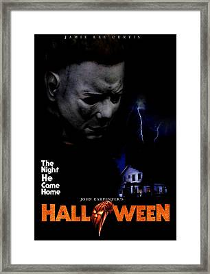 Halloween, 1978 Framed Print by Everett