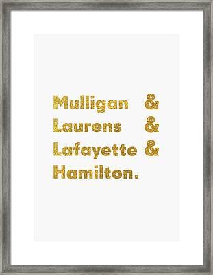 Hamilton Broadway Framed Print by Semih Yurdabak