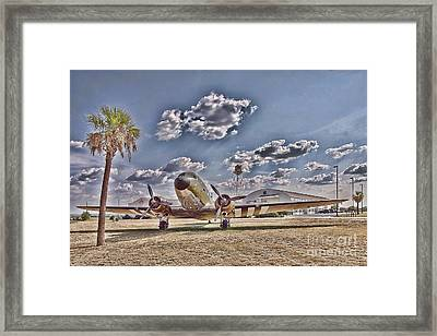 Hanger Hotel Framed Print