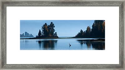 Hanging Out At Sunnyside Framed Print by Marie-Dominique Verdier