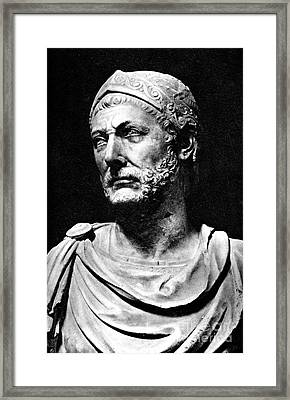 Hannibal, Carthaginian Military Framed Print
