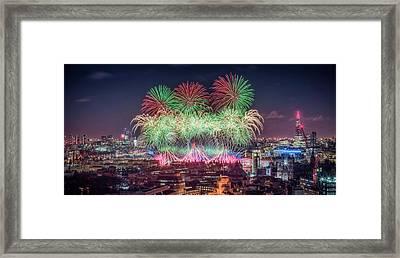 Happy 2018 Framed Print
