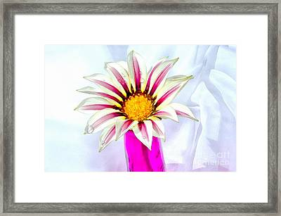 Happy Day Framed Print by Krissy Katsimbras