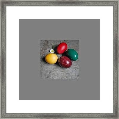 Happy Easter Framed Print by Marija Djedovic