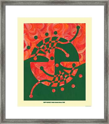 Happy Fantasy Framed Print by Heike Schenk-Arena