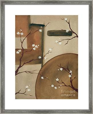 Happy Happy Framed Print by Cathy Cleveland