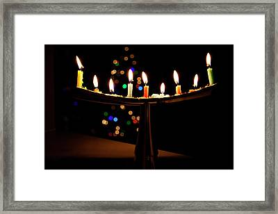 Framed Print featuring the photograph Happy Holidays by Susan Stone