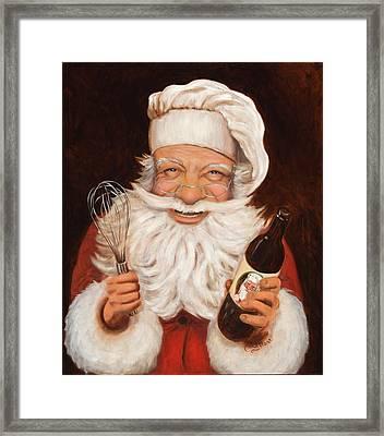 Happy Hollandaise Framed Print by Cherri Lamarr