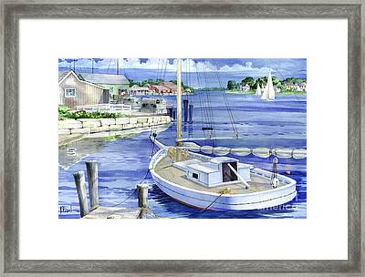 Harbor View Framed Print by Paul Brent