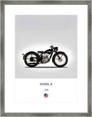 Harley Davidson Model S Framed Print by Mark Rogan