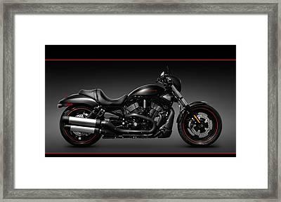 Harley Davidson Vrscd Night Rod Special Framed Print by Oleksiy Maksymenko