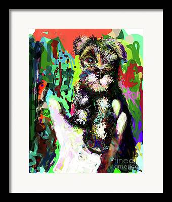 Temperament Digital Art Framed Prints