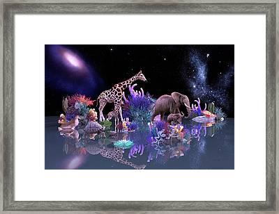 Harmony Framed Print by Betsy Knapp