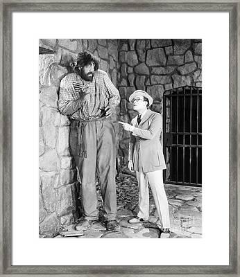 Harold Lloyd (1889-1971) Framed Print by Granger