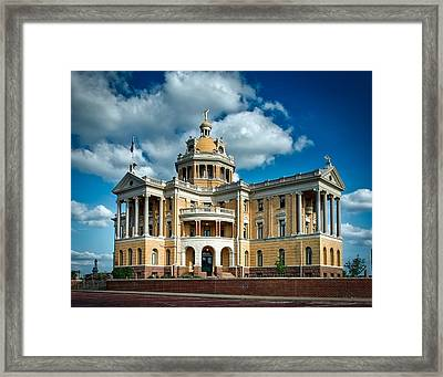 Harrison County Courthouse Framed Print by Mountain Dreams