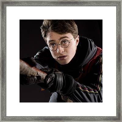 Harry Potter And The Philosophers Stone Daniel Radcliffe Harry Potter 96146 2048x2048 Framed Print