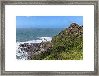 Hartland Point - England Framed Print