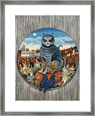 Harvest Time In Sturbridge Framed Print by Jacob Knight