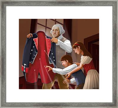 Have You Forgotten Providence Framed Print by Brett H Runion