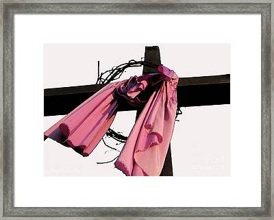 He Is Risen Framed Print by Douglas Stucky