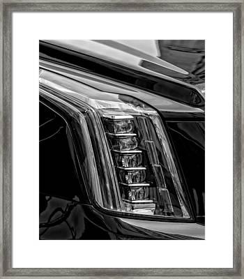Head Light Framed Print by Robert Ullmann