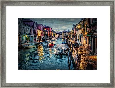 Heading For Home. Framed Print by Brian Tarr