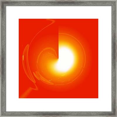 Healing-door No. 01 Framed Print by Ramon Labusch