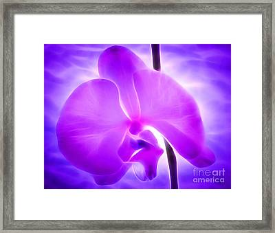 Healing Light Framed Print by Krissy Katsimbras