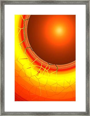 Healing-light No. 07 Framed Print