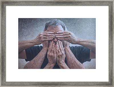 Hear, See, Speak Framed Print