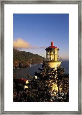 Heceta Head Lighthouse Framed Print by Greg Vaughn - Printscapes