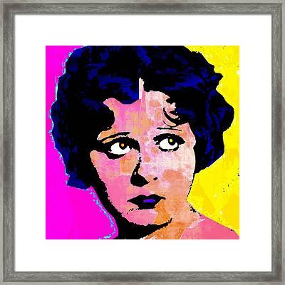 Helen Kane Framed Print