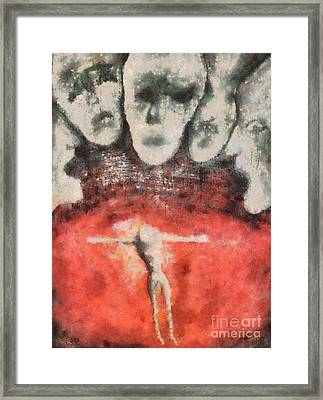 Hell Are The Others Framed Print