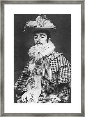 Henri De Toulouse-lautrec Framed Print by Granger