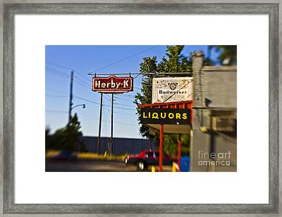 Herby K Framed Print by Scott Pellegrin